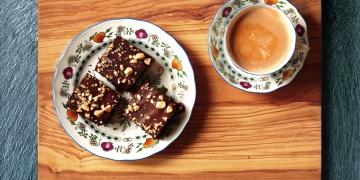 Čokoládové brownies z červené řepy