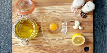 Domácí majonéza z olivového oleje