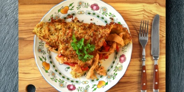 Maso v bramboráku z trouby