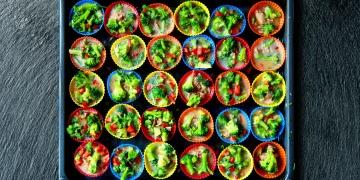 Muffiny s brokolicí a tuňákem