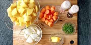 Šťouchané brambory 3v1